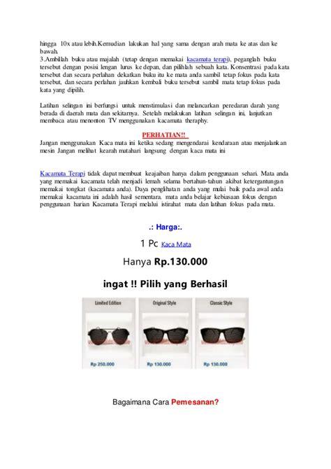 Promo Bulan Ini Lensa Kacamata Minus Plus Silinder Anti Radiasi apa itu kacamata terapi pinhole