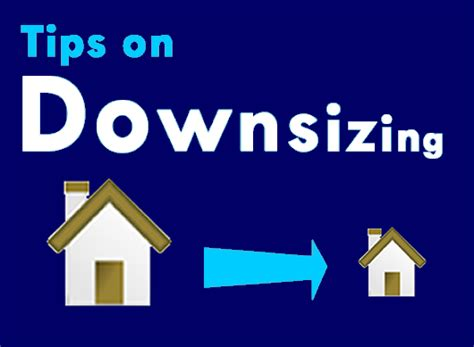 downsize image top tips when downsizing your home castle surveyors ltd