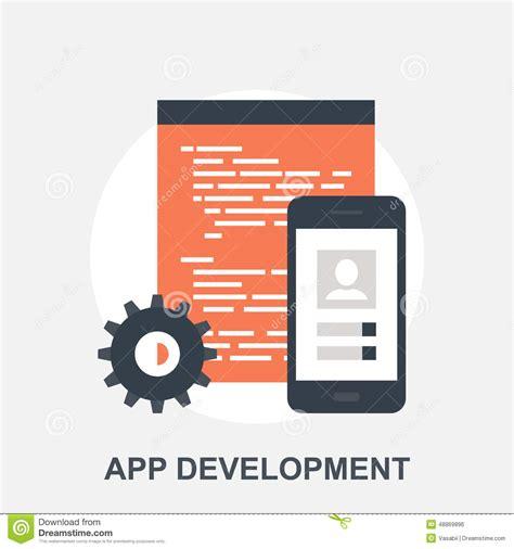 application design vector app development stock vector image 48869896