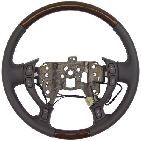 2002 2004 Cadillac DeVille Seville Steering Wheel Dark