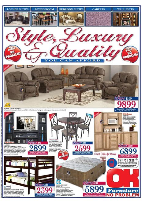 ok furniture furniture catalogue validity 24 june 6 july