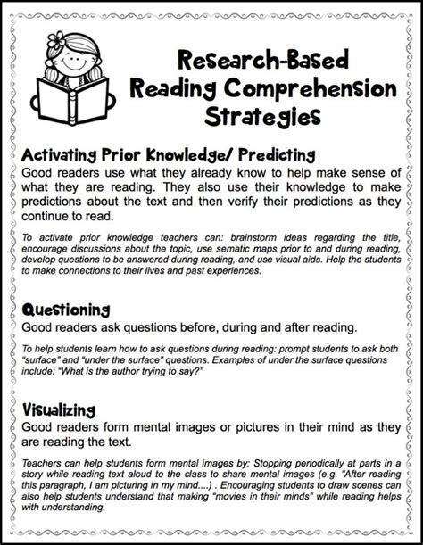 Research Based Letter Identification Strategies Best 25 Comprehension Strategies Ideas On Reading Comprehension Strategies