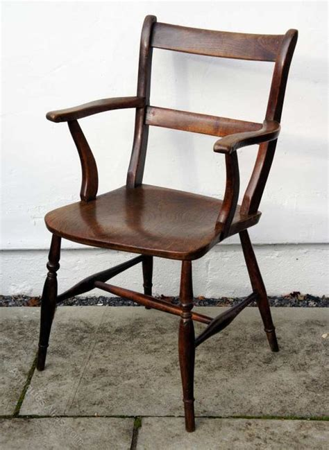 oxford armchair victorian bar back oxford armchair in ash elm antiques atlas