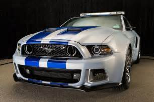 need for speed ford mustang as a pace car for nascar