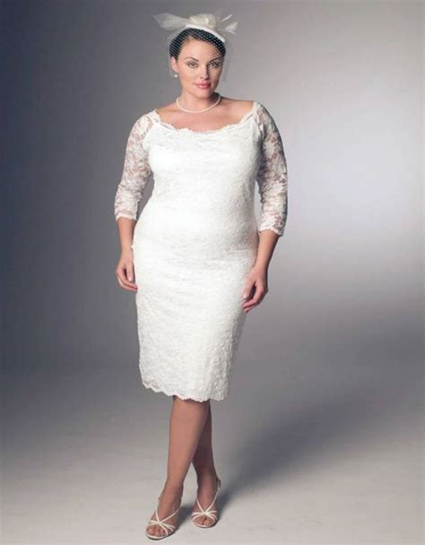 3 Short Plus Size Wedding Dress Styles ? Plus size Dresses