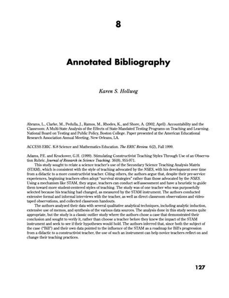 annotated bibliography definition define annotated bibliography about annotated