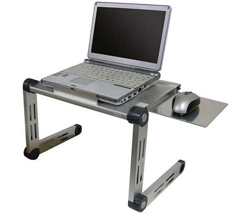 Folding Laptop Table With Mouse Pad Laptop Desk With Mouse Pad