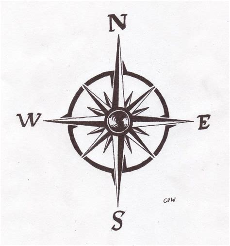 tattoo compass pinterest best 20 simple compass tattoo ideas on pinterest