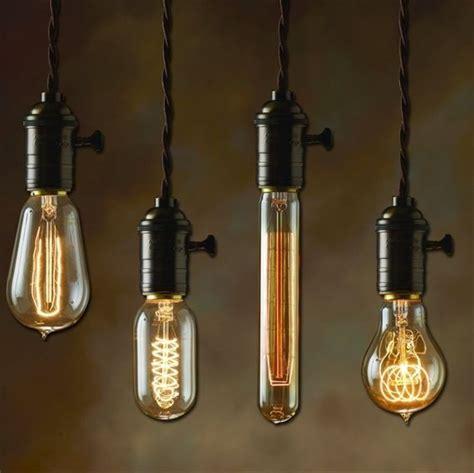 hanging light bulbs from 2 50 hanging light bulbs edison bulbs nostalgic