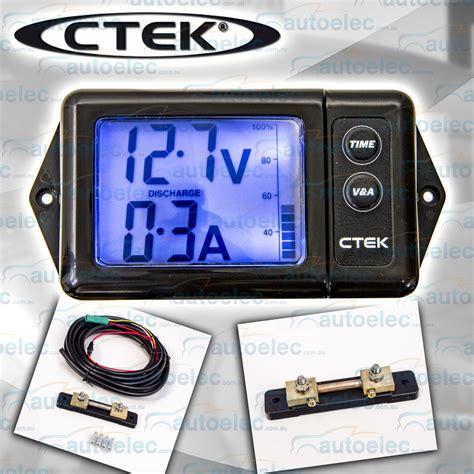 digital battery ctek digital battery monitor for 12v volt dual dc dc solar