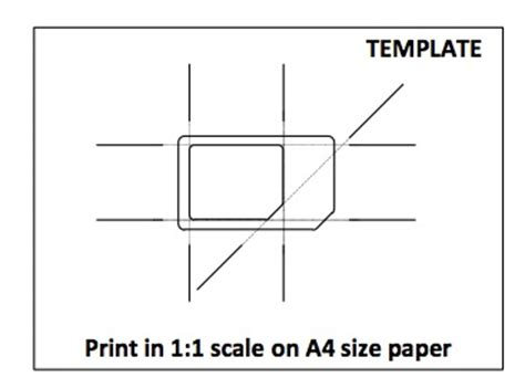 sim card adapter template printable tutto iphone news ecco come trasformare una sim in micro