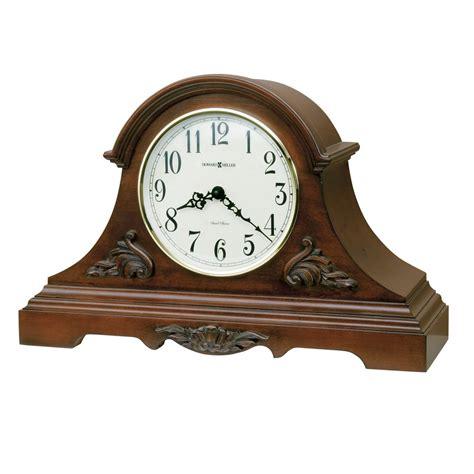 howard miller dual chime clock howard miller sheldon dual chime tambour mantel clock 635127