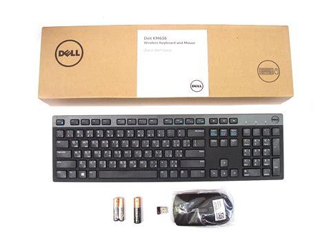 Dell Original Mouse Keyboard Komputer Bundle Sepaket Set genuine dell km636 wireless cordless keyboard mouse set kit arabic layout new 5397063710942 ebay