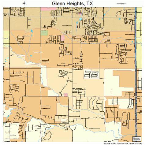 map of glen texas glenn heights texas map 4829840