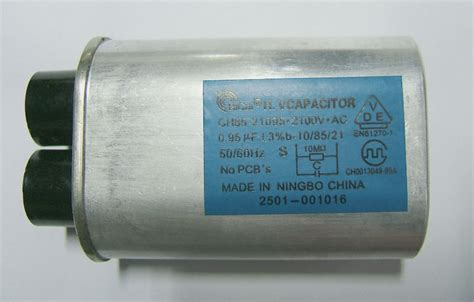 capacitor in a microwave bicai high voltage capacitors for microwave oven ch85 21095 0 95uf 2100v