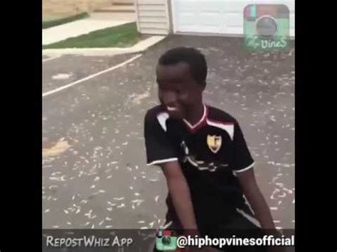 African Kids Dancing Meme - funny kid dancing with basketball youtube
