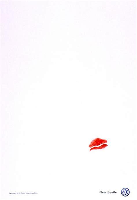 volkswagen valentines volkswagen beetle quot s day quot print ad by