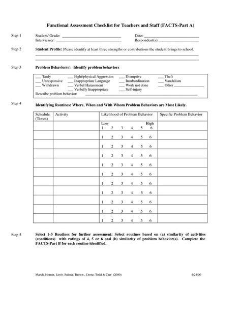 functional assessment observation form template 17 best images about behavior analysis on