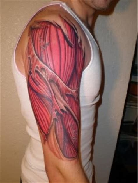 tattoo arm muscle tattoos that automatically give you muscles ripped arms