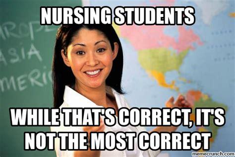 Nurse Meme - nursing students