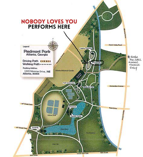 nobody loves you at piedmont park horizon theatre june