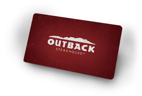 Outback Gift Card Check Balance - restaurant gift cards outback steakhouse