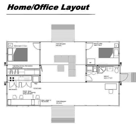 17 best ideas about home office layouts on
