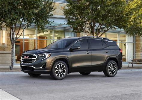 gmc terrain 2018 black first look 2018 gmc terrain testdriven tv