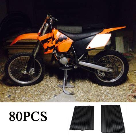 kawasaki motocross bike for kawasaki 250 motocross dirt bike wheel spoke skins