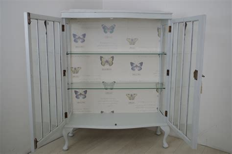 shabby chic display cabinets vintage shabby chic display cabinet painted vintage
