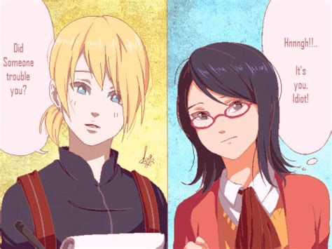 Being Luckyand Sarada by Shipping Whatever