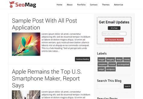 blogspot themes tech top 7 seo friendly blogger templates list of best