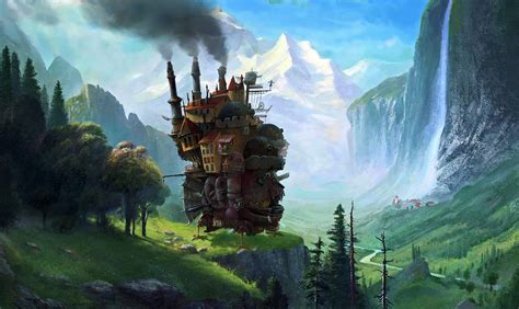 themes in studio ghibli films howl s moving castle hd wallpaper m9themes