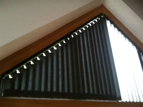 triangle window coverings part closed blinds in triangular window triangular