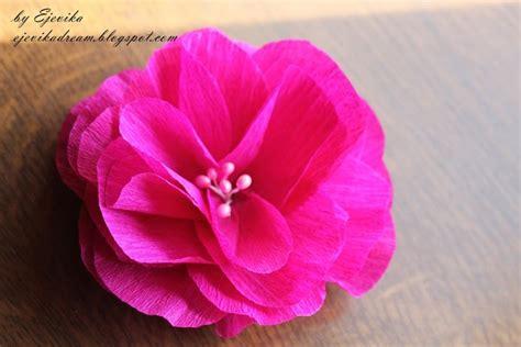 como hacer flores de papel crepe faciles y bonitas youtube ideas para hacer flores de papel crepe imagui