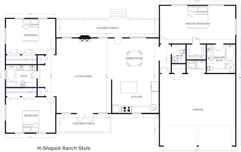 create floor plan for house flooring open floor plans patio home plan houser with