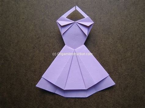 Origami Clothes Folding - origami origami trapeze dress