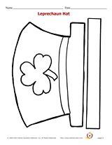 leprechaun hat template printable leprechaun hat pattern printables