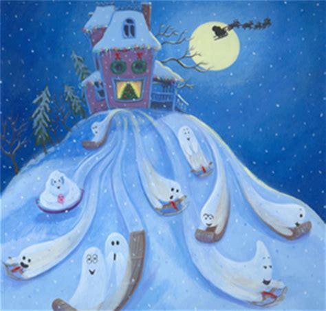 ten timid ghosts ten timid ghosts on a christmas night