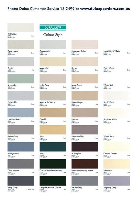 dulux colour chart painting dulux colour