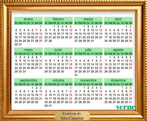 Dia De Tu Santo Calendario Enmarcamos Los Calendarios De Festivos De 2017 Por