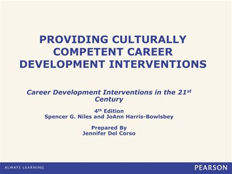 career development interventions with mylab counseling with pearson etext access card package 5th edition merrill counseling ppt providing culturally competent career development