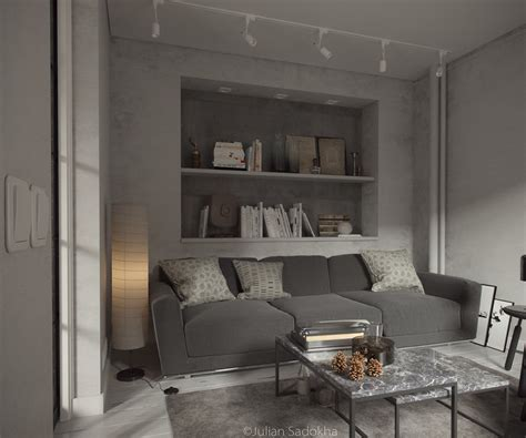 Grey Interior | a cool grey interior for a free spirit