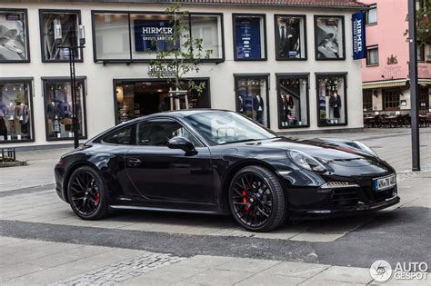 porsche 911 gts black porsche 991 4 gts 15 april 2015 autogespot