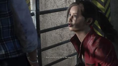 gameplay resident evil   claire  sherry au