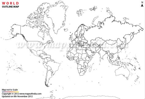 world map physical blank blank map of world political timekeeperwatches