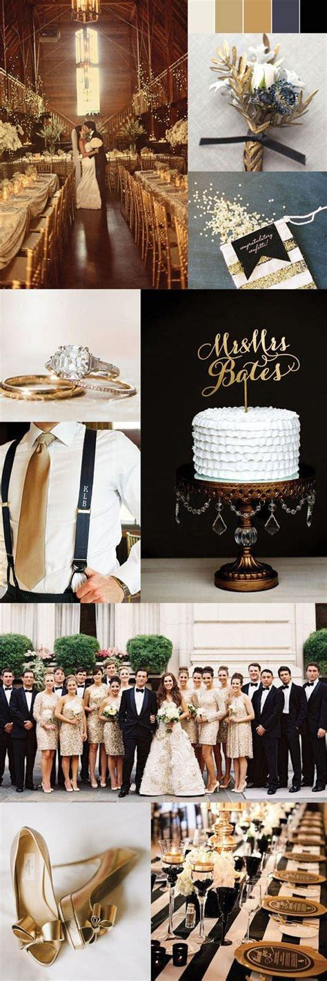 50 trendiest gold wedding ideas glam