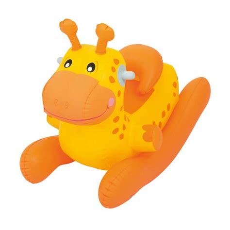 Mainan Anak Topeng Kuning jual bestway 52220 ride on baby animal rocker joyfull giraffe jerapah mainan anak kuning