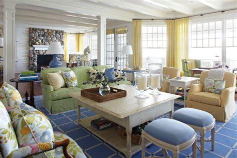 Kilim Upholstery Fabric Michigan Summer Home Beach Style Living Room