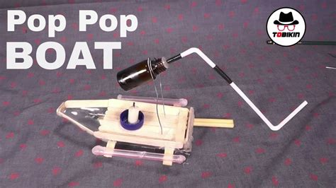 how to make a pop pop boat youtube how to make simple pop pop boat putt putt boat youtube